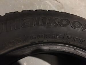 Winter tires 195/60R15 88T