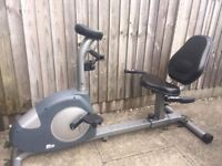 Carl Lewis recumbent exercise bike Can deliver