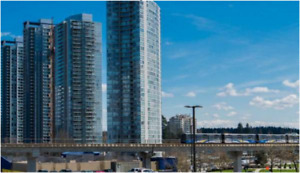 911 Sqft -Beautiful unfurnished 2-bed/bath Corner unit (19th FL)