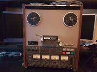 TEAC A3440 Vintage Simul Sync Reel to Reel Tape Recorder (And Revox Type A77 included if wanted)