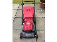 Petrol lawnmower. Mountfield RV150 push mower