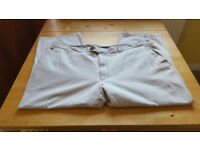 Cream chinos . Size 42. Excellent condition. £3