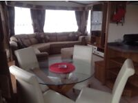Prestige caravan to hire... Haven site... Passes included