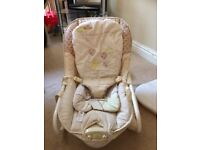 Baby luxury vibrating rocker chair