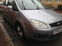 2004 FORD C-MAX SPARES OR REPAIRS NEED GONE TODAY