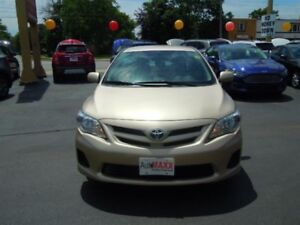 2012 TOYOTA COROLLA CE- LEATHER STEERING WHEEL, CD PLAYER, ABS B