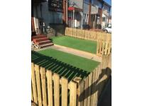 ARTIFICIAL GRASS! Fencing! Landscaping!