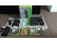 Xbox 360 250gb 2 controllers 4 games hdmi cable included!