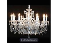 Crystal chandelier ceiling fitting BNIN