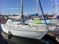 Jaguar 27 Sail Boat 'Quo Vadis' (Fin Keel Diesel Engine Yacht)