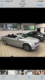 BMW Convertible 320Ci Very Low Mileage 57K Automatic
