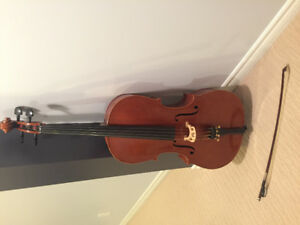 Beautiful 3/4 cello and bow