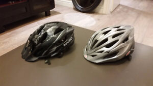 Bike helmets and glove - Devinci and Bell