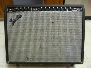 1970's Fender Twin Reverb Tube Amp
