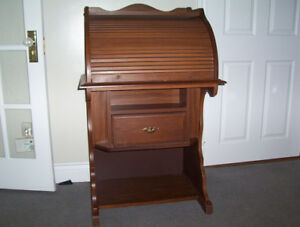meuble stereo style ancien secretaire 50.00