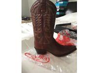 Sendra brown cowboy boots