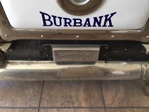 Burbank Antique Stove