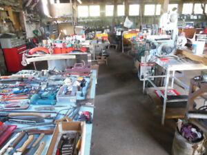 Garage Sale   Estate Sale & Auto Repair Buisness Sale