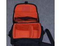 Crystal side camera bag