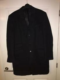 """Men's French Connection 40"""" chest wool overcoat"""