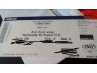 Celine dion leeds tickets