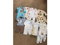 Boys clothes bundle up to 1 month