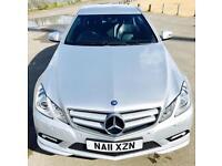 MERCEDES-BENZ E CLASS 2.1 E220 CDI BLUEEFFICIENCY SPORT 2d AUTO 170 BHP (silver) 2011