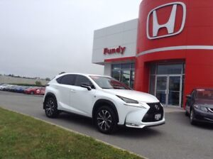 2016 Lexus NX F-SPORT ONE OWNER, LOCAL TRADE !