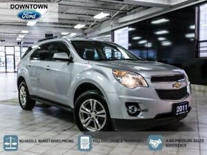 2011 Chevrolet Equinox 1LT , AWD, Trade in with Car Proof Verifi