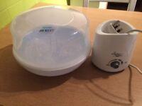 Baby Bottle warmer & microwave steriliser & bottle carrier