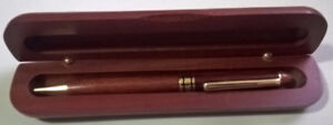 Bombay Wooden Rosewood Ballpoint Pen  with Case