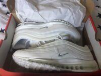 Nike air max 97s white size 8.5