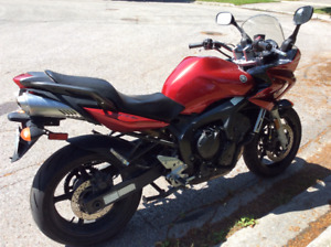 Yamaha fz6 great  bike 2006