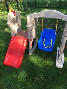Little Tykes Swing Slide playset