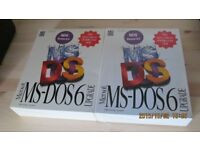Microsoft MS-DOS 6.2 Upgrade £10