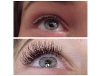 EYELASH EXTENSIONS FREE TREATMENTS 2D 3D