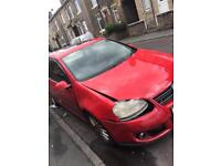 Quick sale golf GT 56 plate rare red 170bhp