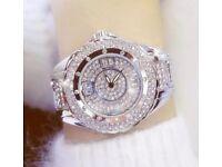Beautiful cz diamond watches