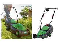 Electric Lawnmower Grass Trimmer Rotary Corded Outdoor Garden Patio Yard Cutter Allotment Green Care