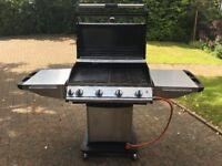 4 Burner Gas Barbecue