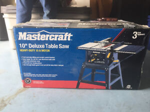"""Master craft 10"""" Table Saw"""