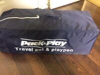Travel cot / play pen