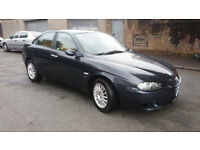 2005(55)ALFA ROMEO 156 2.4 JTD M-JET LUSSO MET BLUE,6 SPEED,230BHP REMAP,GREAT VALUE