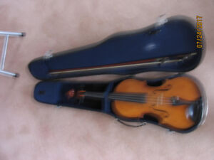 Violin -bow and case