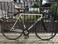 56cm Dave Marsh restored 531 Reynolds steel gear fixed/fixie grass track bike/bicycle