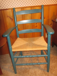 Cane seating chair