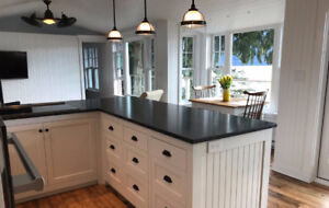 Custom made cottage style cabinets & furniture