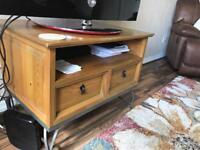 Pine TV unit