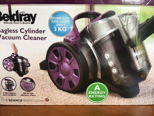 Beldray Bagless Cylinder Vacuum Cleaner Hardly Used In