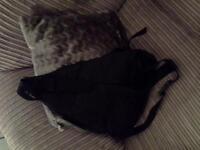 Black Calvin Klein crossbody bag